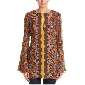 Free People Ossie Vibes Bell Sleeve Tunic D21